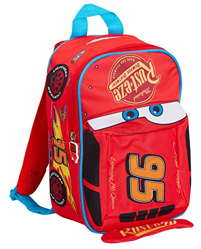 Disney Cars 3D Backpack Kids Lightning McQueen School Nursery Lunch Bag Rucksack