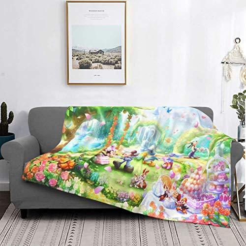 Disney Characters - Manta de forro polar ultra suave, acogedora y cálida manta de felpa, sofá cama, sofá cama, 125 x 150 cm