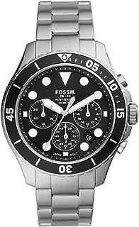 Fossil Orologio Analogico Quarzo Uomo con Cinturino in Acciaio Inossidabile FS5725