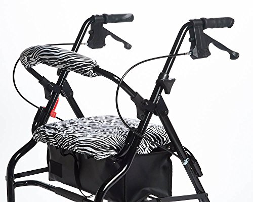 RMS Walker Seat & Rollbar Cover Set (Zebra)