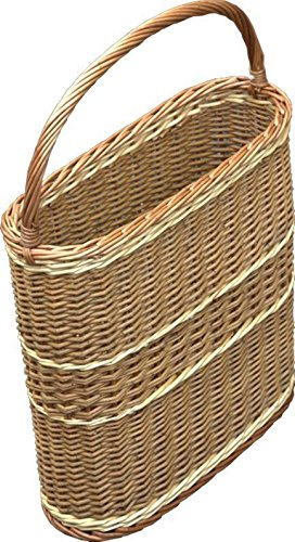 Red Hamper Oval Bottle Picnic Basket Carrier