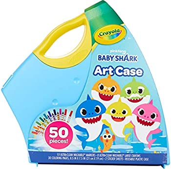Crayola Baby Shark 50-Piece Art Set