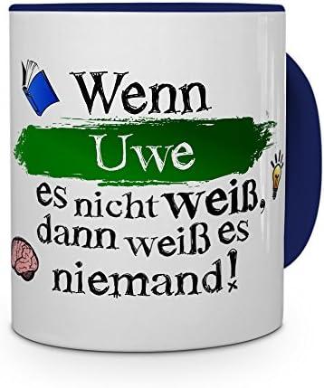 Tasse mit Namen Bennet Wenn Bennet es nicht weiß... Motiv