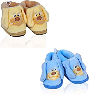 Mahi Fashion Baby Booties Shoes for Girls and Boys Pack of 2