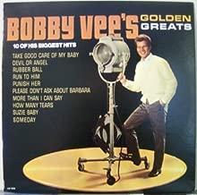 Bobby Vee's Golden Greats - 10 of His Biggest Hits