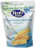 Hero Baby Mi primera Galleta sin Gluten de Fácil Disolución para Bebés a partir de 4 meses 180 g