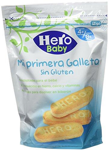 Hero Baby Mi primera Galleta sin Gluten de Fácil Disolución para Bebés...