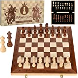 Wooden Chess Set for Kids and Adults – 17 in Staunton...