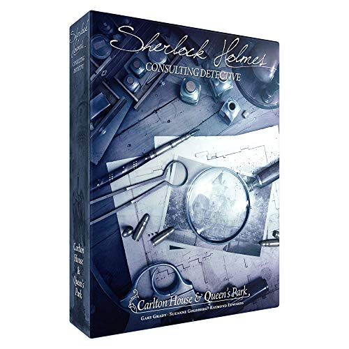 Space Cowboys- Carlton House & Queen's Park - Sherlock Holmes: Detective consultor, Multicolor (SHEH04)