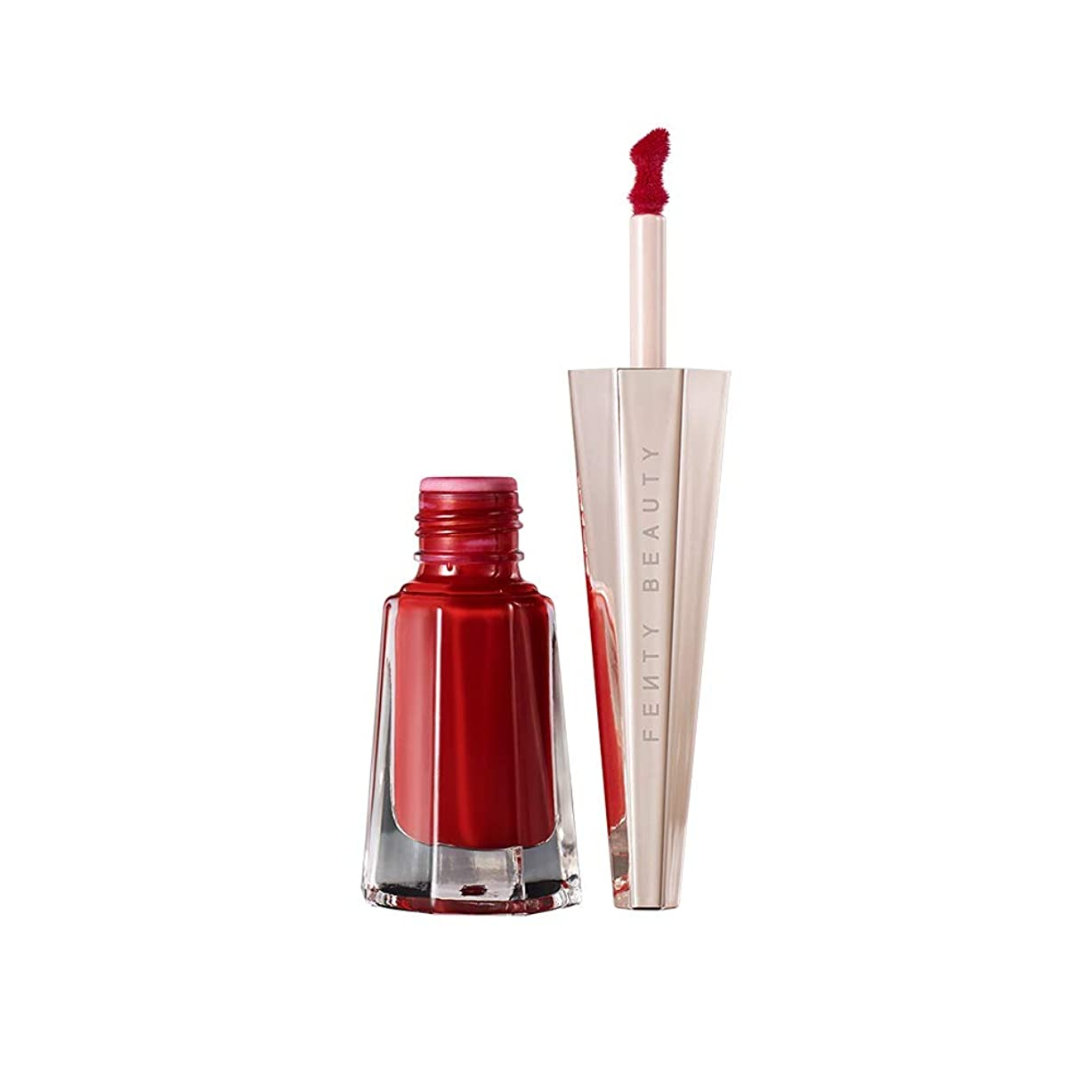 地平線回想交差点【並行輸入品】FENTY BEAUTY BY RIHANNA Stunna Lip Paint Longwear Fluid Lip Color Uncensored - perfect universal red