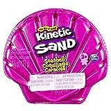 Kinetic Sand, Contenitore Conchiglia con 127 G di Sabbia Colorata, a Sorpresa, dai 3 Anni in su - 6054245