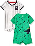 Product Image of the Carter's Baby Boys' 2-Pack Snap-up Romper, Dino/MVP, Newborn
