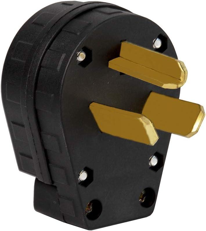 Nema 10-30P Plug 30 El Paso New York Mall Mall Amp 125 250 3 Wire G Volt Angle Pole