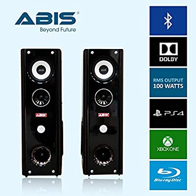 Floor Standing Home Cinema Speakers Bluetooth, Audio Jack, SD Card, USB Compatible by ABIS