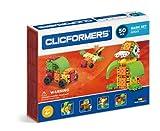 Clicformers Bausteine für Kinder ab 3 Jahre, kreatives Lernspielzeug im 50 teiligen Basisset, Steckspiel für Jungen und Mädchen, pädagogisches Montessori Bauspielzeug, STEM-Spielzeug,