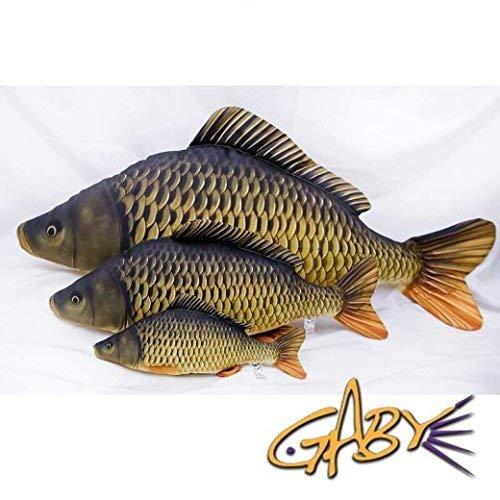 Decoratief kussen in de vorm van een echte vis, mini gewone karper
