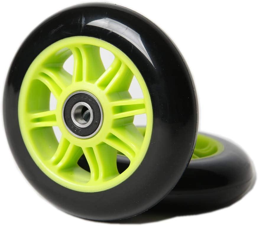 FREEDARE Ruedas de repuesto para patinete Kick Scooter (100 mm, 2 unidades)