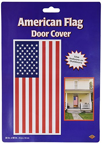 Beistle 57084 American Flag Door Cover, 30 by 5-F