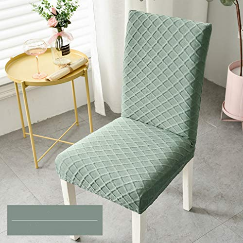 Stafeny Funda protectora para silla de comedor de color sólido, elástica, moderna, minimalista, ajuste universal (paquete de 4/6)