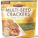 Rosemary & Olive Oil Multi-Seed Crackers