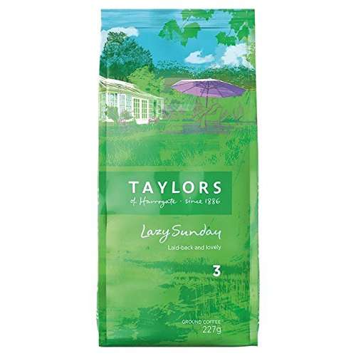 Taylor's Lazy Sunday Ground Coffee 227g - Pack of 6