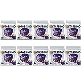 Tassimo Cadbury Cápsulas de chocolate caliente - 10 paquetes (80 bebidas)