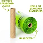 Compostable Dog Poop Bags, Plant-Based Poop Bag for Dogs. 60 Unscented Thick Leak Proof Pet Waste Bags 11x13. 4 x Refill Rolls Fit Standard Dispensers. Highest Rated ASTM D6400 Supports Doggie Rescue 13