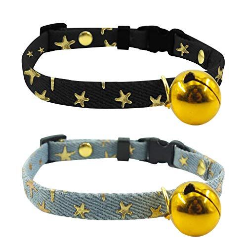 SLSON Cat Collars with Bell