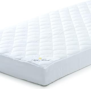 Colchones para cama (180x 210, agua hirviendo transpirable cubrecama de poliéster de microfibra de colchón, también para camas y Camas de Agua geeigneter Protector de colchón, hasta aprox. 35cm de altura, aqua textil Colchón Soft Touch 0010593