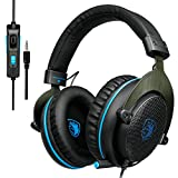 SADES R3 Gaming Headset Over-Ear Gaming Headphones with with Volume Control for New