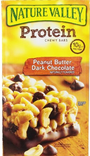 Nature Valley Protein Bars, Peanut Butter Dark Chocolate, 26 Bars (2 Boxes)