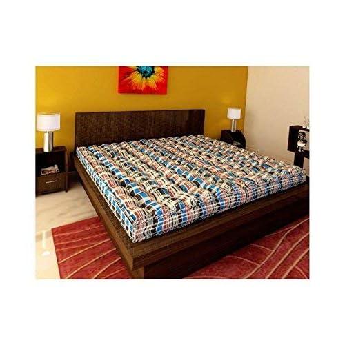 IRA Furniture Double Bed Soft Cotton Mattress gadda(4 Inch)