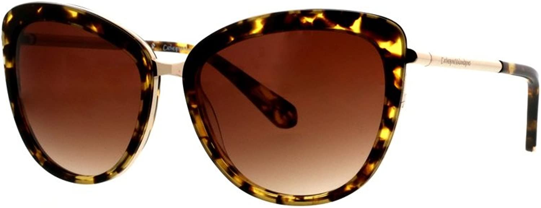 Catherine Malandrino Women's Large Sleek Glam Cat Sunglasses