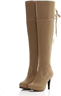 2c5710884d3 Amazon.com: Orange - Over-the-Knee / Boots: Clothing, Shoes & Jewelry