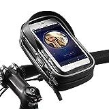 ROCKBROS Bolsa Manillar de Bicicleta Montaña Carretera MTB Ciclismo Ajustable con Pantalla Táctil para Teléfono de 6,0 Pulgadas