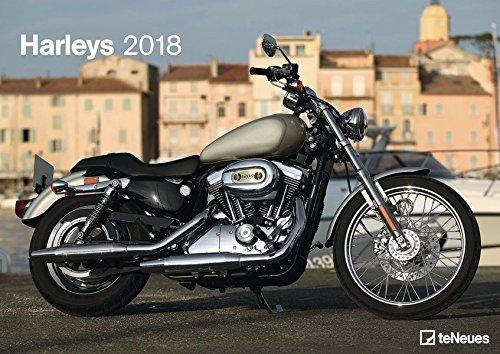 Harleys 2018: teNeues Motorradkalender