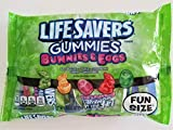 Lifesavers Candy Gummies (1 Bag) Easter Bunnies & Eggs Watermelon Orange Strawberry Cherry Green Apple 8.63 oz / 244.66 g 11 Servings Per Pack, 2 Pack