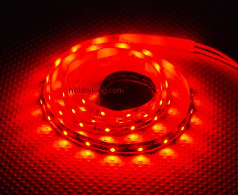 Walkera EEyes GPS Turnigy High Density R C LED Flexible Strip  RED (1 meter) Night Flying