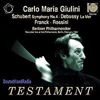 Schubert/Debussy/Frank/Ro: Sym by Berliner Philharmoniker (2010-04-13)