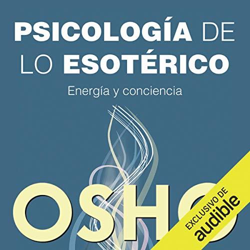 Diseño de la portada del título Psicologia De Lo Esoterico (Narración en Castellano)