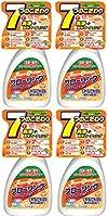 【まとめ買い】スーパーオレンジ フローリング 洗浄・防汚・消臭除菌の効果 すべりにくい成分配合 本体 400ml×4個