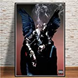 Travis Scott Music Star Rap Rapper Rodeo Astroworld Poster Wall Art Picture Prints Canvas Painting For Home Room Decor-Sin marco-50X60cm