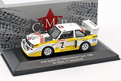 CMR- Miniaturauto zur Sammlung, WRC003B, Weiß/Gelb/Rot