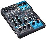 YAMAHA Consola de mezcla de 6 canales incorporado efectos digitales MG06X