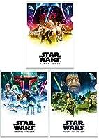 スター・ウォーズ・サガ The Star Wars Saga クリアファイル3枚セットF