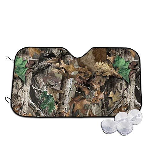 The Deer hides Between The Trees Car Windshield Sunshade, Durable Auto Front Window Sun Shade Visor Shield Cover for Car Auto Truck SUV,