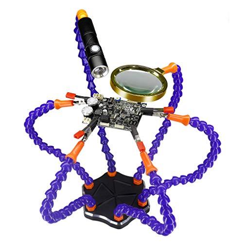 Silverline 511032 universel de fixation Kit 5 pièce 360 ° Hobbies Craft à souder