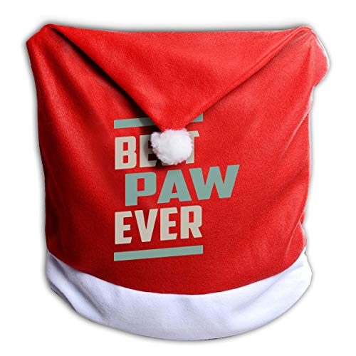 Best Paw Ever Christmas Chair Covers Dining Room Christmas Seat Cover Christmas Decorations