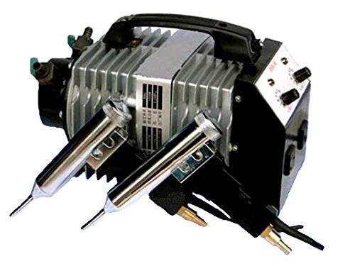 Neuf Split type de plastique soudeur Air Chaud soudure machine Plastique soudeur Outil