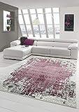 Teppich-Traum Alfombra salón Vintage Adornos Alfombra de diseñador Orient Rojo Größe 120x170 cm